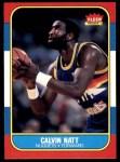 1986 Fleer #79  Calvin Natt  Front Thumbnail