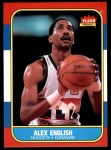 1986 Fleer #30  Alex English  Front Thumbnail