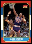 1986 Fleer #29  James Edwards  Front Thumbnail