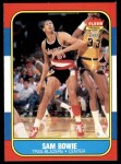 1986 Fleer #13  Sam Bowie  Front Thumbnail