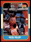 1986 Fleer #94  Tree Rollins  Front Thumbnail