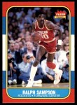 1986 Fleer #97  Ralph Sampson  Front Thumbnail