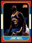 1986 Fleer #104  Larry Smith  Front Thumbnail