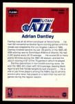 1986 Fleer Sticker #3  Adrian Dantley  Back Thumbnail