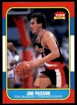 1986 Fleer #85  Jim Paxson  Front Thumbnail