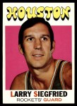 1971 Topps #36  Larry Siegfried   Front Thumbnail