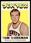 1971 Topps #163  Tom Workman  Front Thumbnail