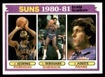 1981 Topps #60   Suns Leaders Front Thumbnail