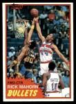 1981 Topps #98 E Rick Mahorn  Front Thumbnail