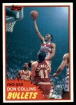 1981 Topps #95 E Don Collins  Front Thumbnail