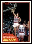1981 Topps #97 E Mitch Kupchak  Front Thumbnail