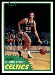 1981 Topps #73 E Chris Ford  Front Thumbnail