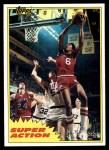 1981 Topps #104 E  -  Julius Erving Super Action Front Thumbnail