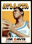 1971 Topps #97  Jim Davis   Front Thumbnail