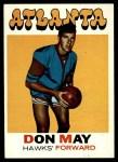 1971 Topps #6  Don May   Front Thumbnail