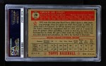 1952 Topps #79 RED Gerry Staley  Back Thumbnail