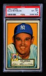 1952 Topps #67 RED Allie Reynolds  Front Thumbnail