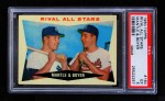 1960 Topps #160   -  Mickey Mantle / Ken Boyer Rival All-Stars Front Thumbnail