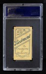 1909 T206 POR Larry Doyle  Back Thumbnail