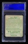 1934 Goudey #21  Bill Terry  Back Thumbnail