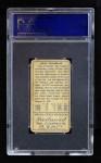 1911 T205 xT Doc Crandall  Back Thumbnail