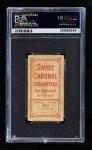 1909 T206 BLK Christy Mathewson  Back Thumbnail
