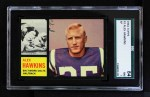1962 Topps #3  Alex Hawkins  Front Thumbnail