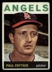 1964 Topps #149  Paul Foytack  Front Thumbnail