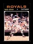 1971 Topps #470  Bob Oliver  Front Thumbnail