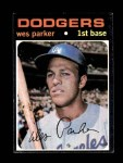 1971 Topps #430  Wes Parker  Front Thumbnail