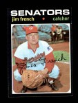 1971 Topps #399  Jim French  Front Thumbnail