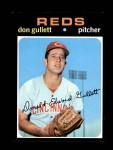 1971 Topps #124  Don Gullett  Front Thumbnail