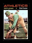 1971 Topps #258  Dick Green  Front Thumbnail