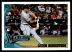 2010 Topps Update #50  Giancarlo Stanton  Front Thumbnail