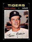 1971 Topps #553  Kevin Collins  Front Thumbnail