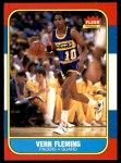 1986 Fleer #33  Vern Fleming  Front Thumbnail