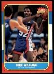 1986 Fleer #123  Buck Williams  Front Thumbnail