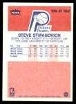 1986 Fleer #106  Steve Stipanovich  Back Thumbnail