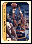 1986 Fleer Sticker #4  Alex English  Front Thumbnail