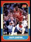 1986 Fleer #97  Ralph Sampson  Front Thumbnail