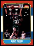 1986 Fleer #87  Ricky Pierce  Front Thumbnail