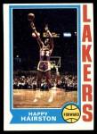 1974 Topps #68  Happy Hairston  Front Thumbnail