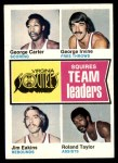 1974 Topps #230   -  Jim Eakins / Roland Taylor / George Irvine / George Carter Squires Team Leaders Front Thumbnail
