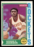 1974 Topps #54  George Johnson  Front Thumbnail