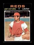 1971 Topps #293  Pat Corrales  Front Thumbnail