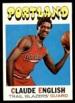 1971 Topps #46  Claude English   Front Thumbnail
