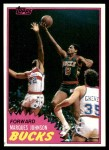 1981 Topps #24  Marques Johnson  Front Thumbnail