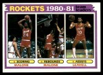 1981 Topps #52   Rockets Leaders Front Thumbnail