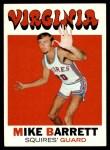 1971 Topps #162  Mike Barrett  Front Thumbnail