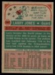 1973 Topps #187  Larry Jones  Back Thumbnail